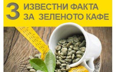 3 известни факта за зеленото кафе