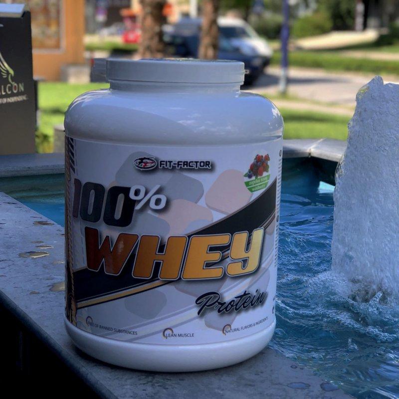 100% Whey Protein - Суроватъчен протеин 2270гр