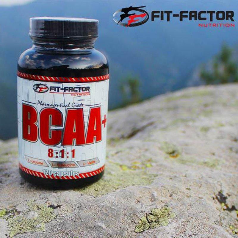 Аминокиселини с разклонена верига BCAA  - 120 капсули