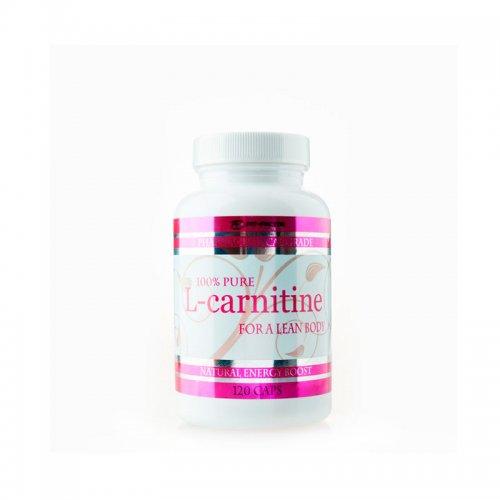 100%  чист Л-карнитин 120 капсули