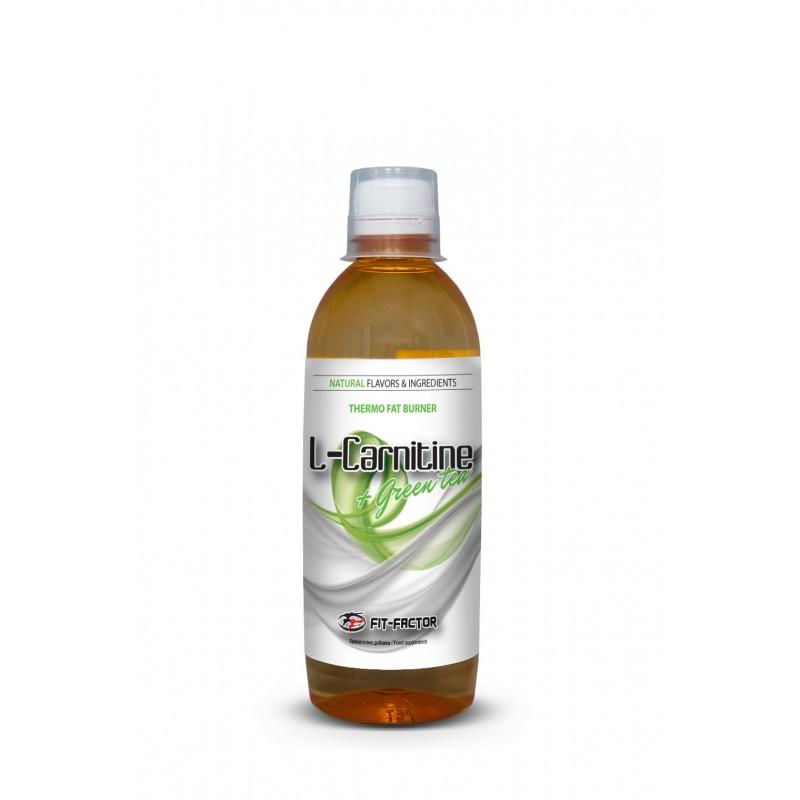 Л-карнитин + зелен чай 500мл - за отслабване и енергия