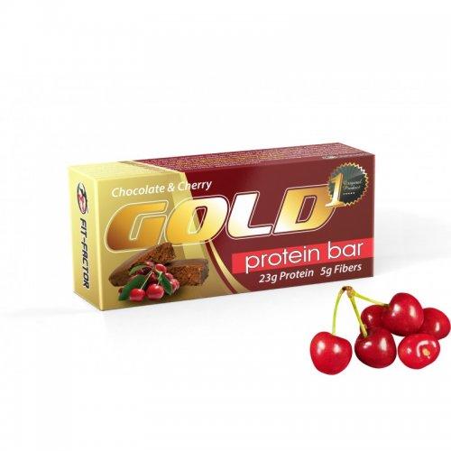 GOLD Протеинов десерт вафла - Череша